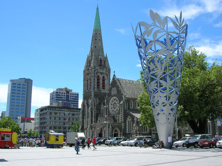 Neuseeland Rundreise Christchurch
