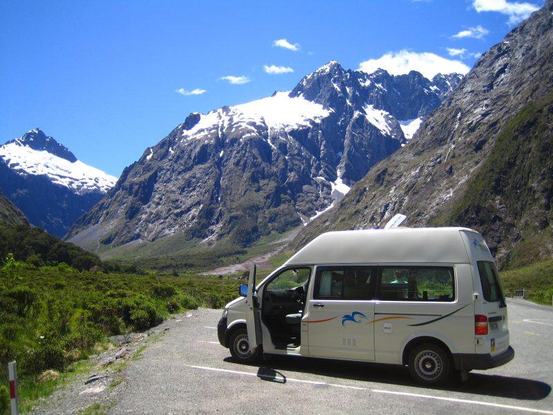 Neuseeland Rundreise Gipfel