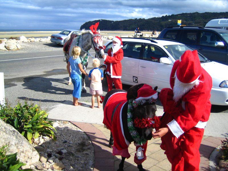 Neuseeland Rundreise Weihnachtsmann