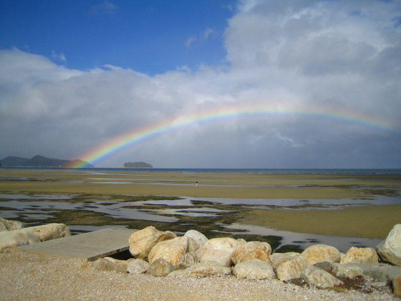 Neuseeland Rundreise Regenbogen