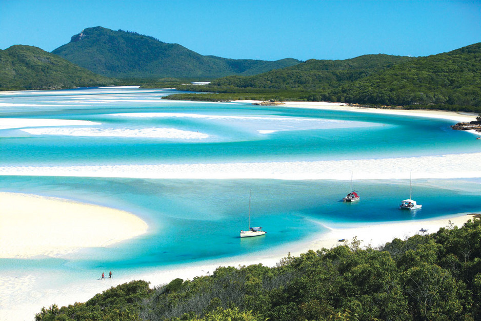 Brisbane Airlie Beach Whitsundays Hill Inlet2 @awayonwheels