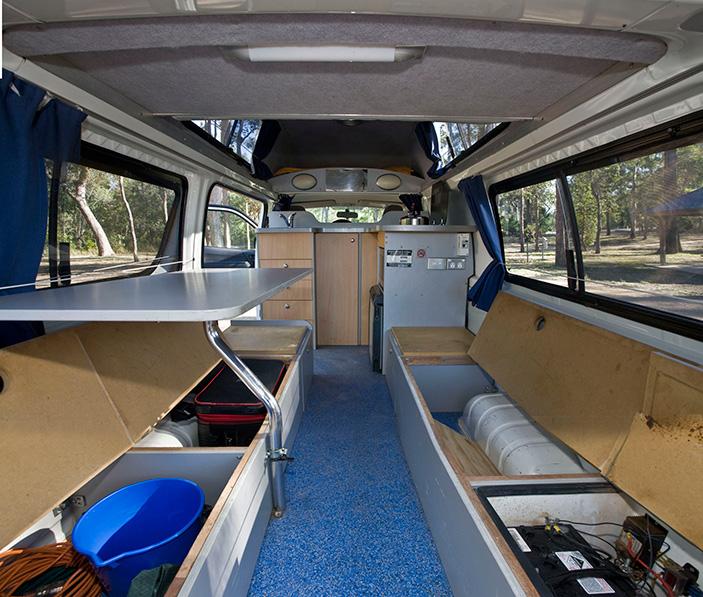 Gepäck Camper Stauraum @awayonwheels