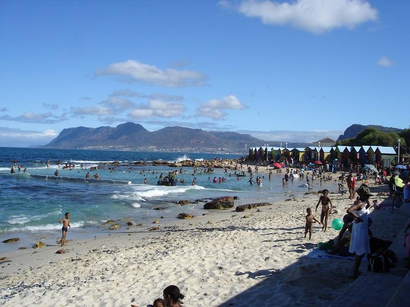 Kapstadt Kalk Bay St James@awayonwheels