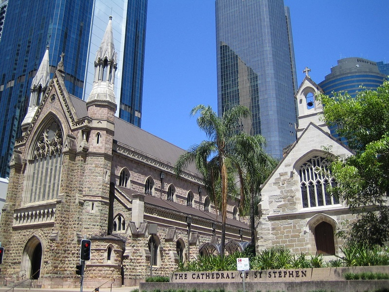 Brisbane Tipps Cathedral St Stephen