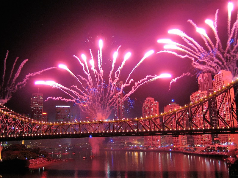 Brisbane Tipps River Fire