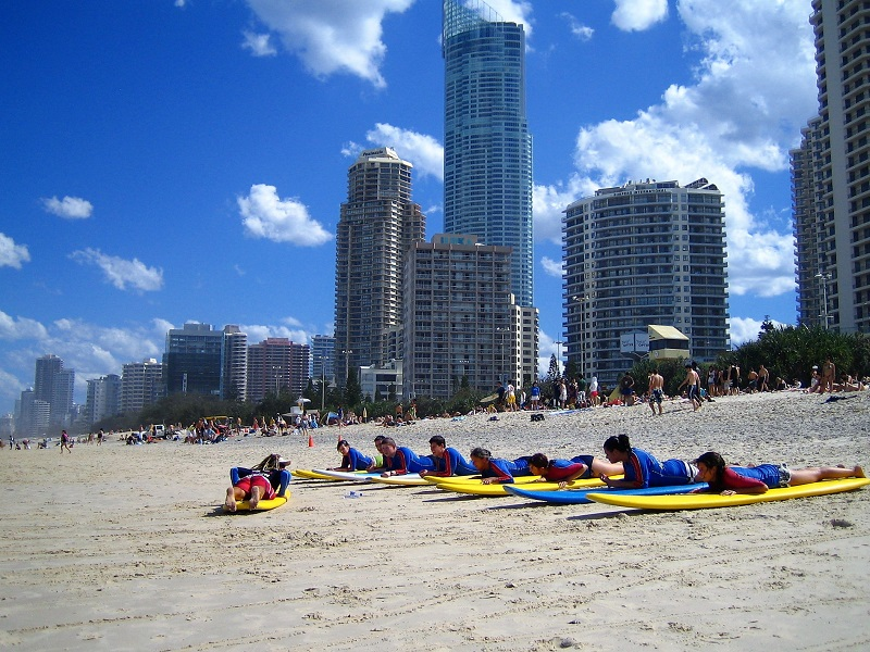 Daytrips Brisbane_Gold Coast Surf Kurs