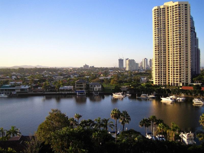 Daytrips Brisbane_Gold Coast Vorort Sonnenuntergang