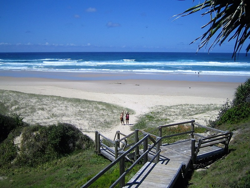 Daytrips Brisbane_Frenchmans Beach North Stradbroke Island