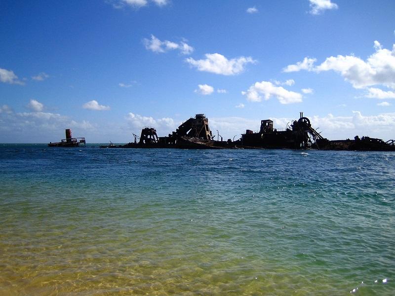 Daytrips Brisbane_Tangalooma Wracks Moreton Island