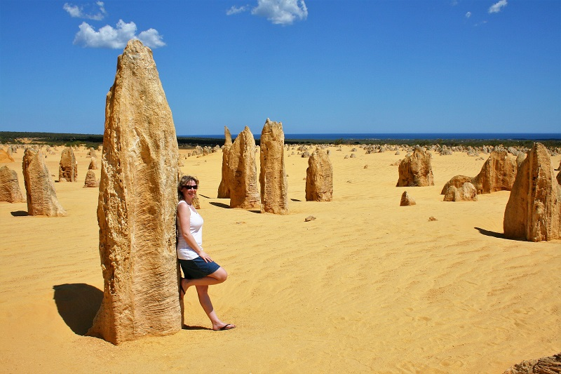 Westaustralien Roadtrip Pinnacles Desert Nambung Nationalpark
