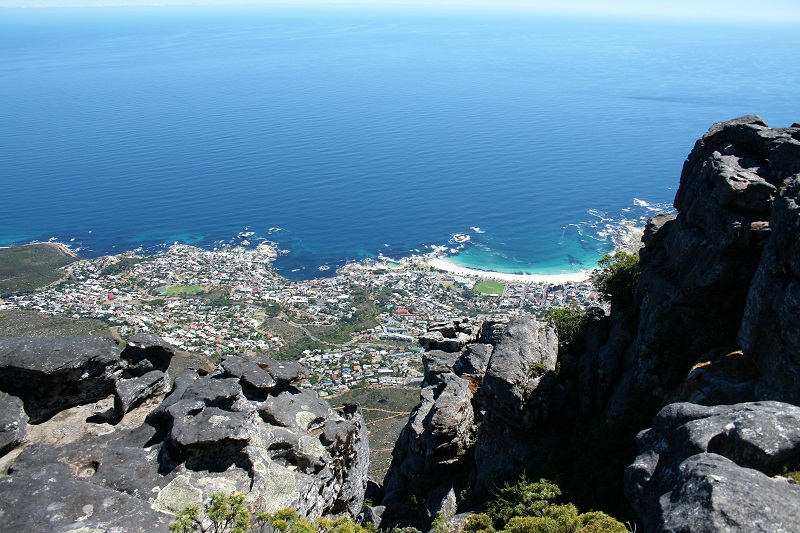 Kapstadt Highlights Tafelberg Blick Camps Bay