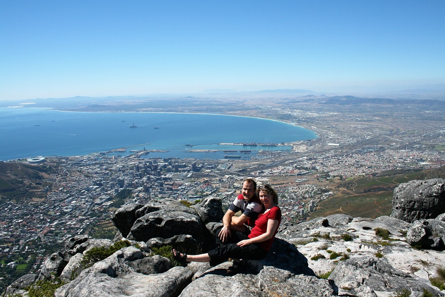 Kapstadt Highlights Tafelberg Paar