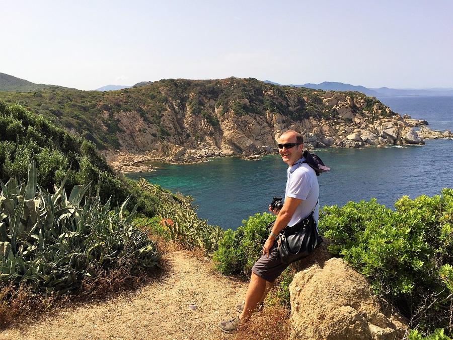 Highlights Sardinien_Capo Ferrato Leuchtturm_Blick vom Leuchtturm